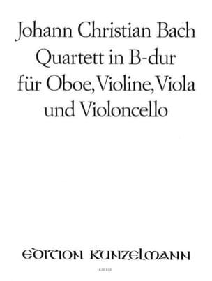 Quartett B-Dur -Oboe Violine Viola Cello - Stimmen laflutedepan