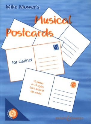 Musical Postcards for Clarinet Mike Mower's Partition laflutedepan