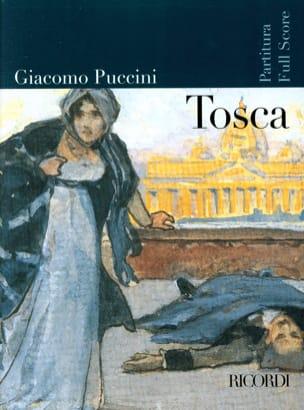 Tosca Nouvelle Edition PUCCINI Partition Grand format - laflutedepan