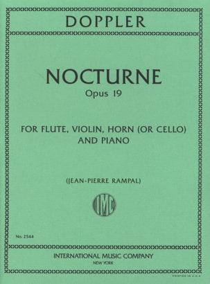 Nocturne, Op. 19 - Flûte-Violon-Cor Ou Cello-Piano laflutedepan