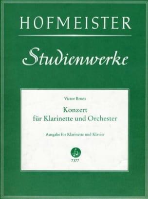 Konzert Nr. 1 op. 26 für Klarinette Victor Bruns laflutedepan