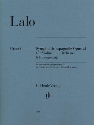 Symphonie espagnole op. 21 LALO Partition Violon - laflutedepan