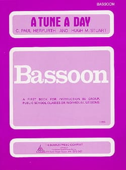 A Tune A Day - Bassoon Paul C. Herfurth Partition laflutedepan