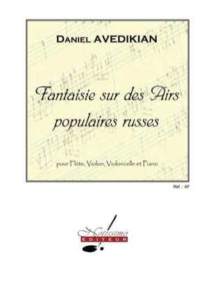 Fantaisie sur des Airs populaires Russes Daniel Avedikian laflutedepan