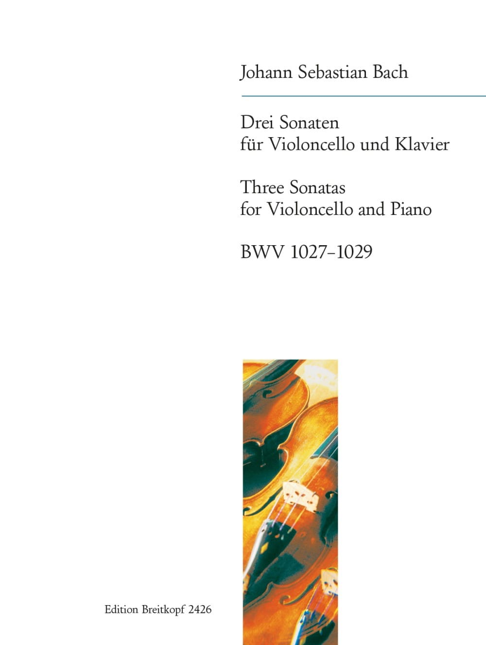 Drei Sonaten BWV 1027-1029 - BACH - Partition - laflutedepan.com