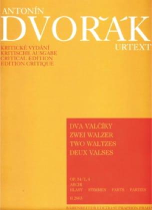 2 Walzer op. 54 Nr. 1 und 4 - Streicher -Stimmen - laflutedepan.com