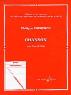 Chanson - Philippe Rougeron - Partition - laflutedepan.com