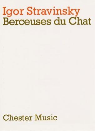 Berceuses du Chat - Score STRAVINSKY Partition laflutedepan