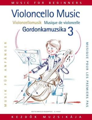 Musique pour les 1ers pas, Volume 3 - Violoncelle laflutedepan