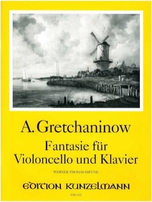 Fantasie für Violoncello und Klavier laflutedepan