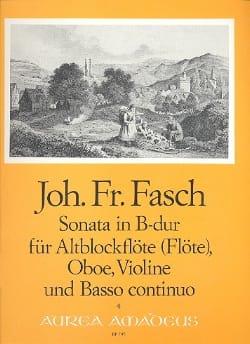 Sonata B-Dur - Altblockflöte Oboe Violine BC laflutedepan