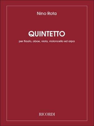 Quintetto -Flauto oboe viola cello arpa ROTA Partition laflutedepan