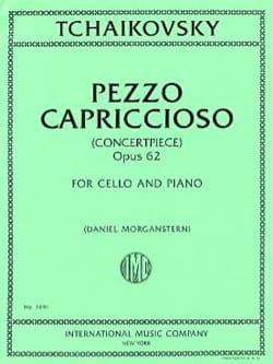 Pezzo Capriccioso, op. 62 TCHAIKOVSKY Partition laflutedepan