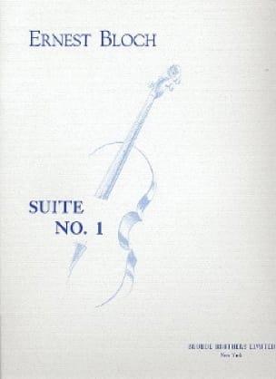 Suite n° 1 - Cello solo - BLOCH - Partition - laflutedepan.com