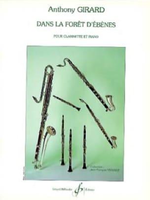 Dans la forêt d'ébènes - Anthony Girard - Partition - laflutedepan.com