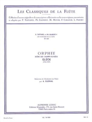 Scène de Ballet des Champs-Elysées d'Orphée - Flûte et piano laflutedepan