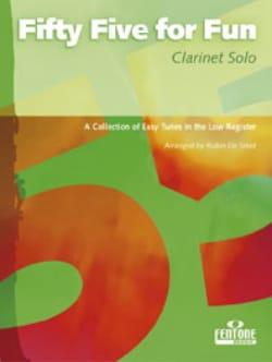 55 For fun - Clarinette Solo Partition Clarinette - laflutedepan