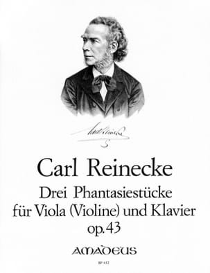 3 Phantasiestücke Opus 43 Carl Reinecke Partition Alto - laflutedepan