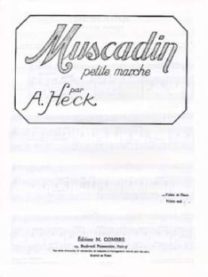 Muscadin op. 28 - J. Armand Heck - Partition - laflutedepan.com