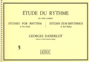 DANDELOT - Estudio del ritmo del ritmo 5 - Partition - di-arezzo.es