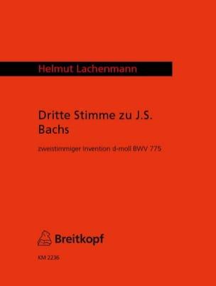 3. Stimme zu Bach-Invention d-moll BWV 775 laflutedepan
