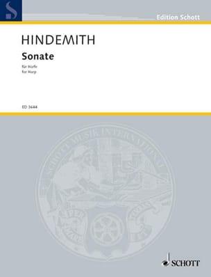 Sonate -Harpe HINDEMITH Partition Harpe - laflutedepan
