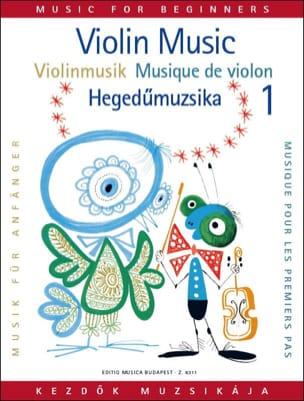 Musique pour les 1ers pas, Volume 1 - Violon laflutedepan
