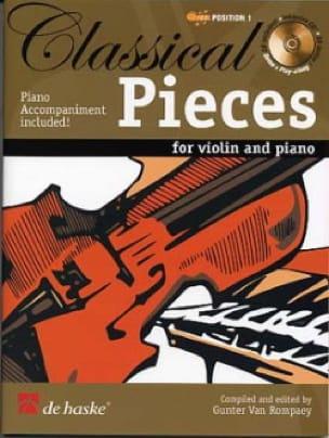 Classical Pieces - Partition - Violon - laflutedepan.com