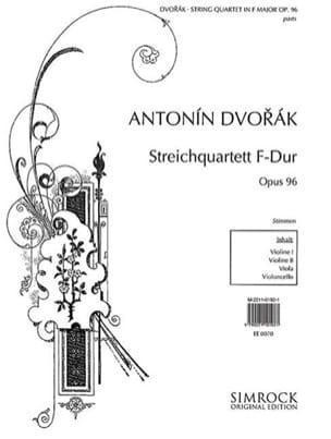 Streichquartet in F-Dur op. 96 - Stimmen DVORAK laflutedepan