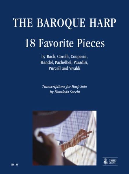 The Baroque Harp 18 Favorites Pieces - laflutedepan.com