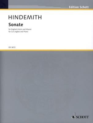 Sonate - Englisch Horn Klavier HINDEMITH Partition laflutedepan