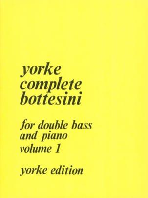 Complete Bottesini Volume 1 BOTTESINI Partition laflutedepan