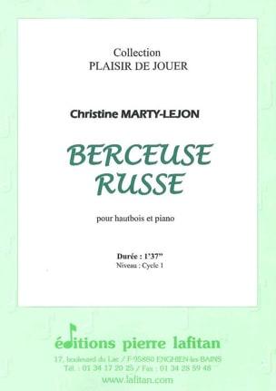 Berceuse Russe - Hautbois/Piano Christine Marty-Lejon laflutedepan