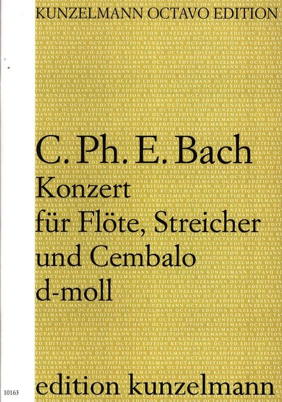 Konzert d-moll für Flöte, Streicher u. Cembalo - laflutedepan.com