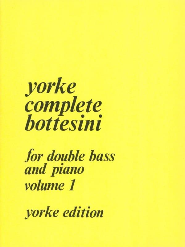 Complete Bottesini Volume 1 - BOTTESINI - Partition - laflutedepan.com