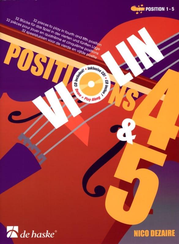Positions 4 & 5 - Nico Dezaire - Partition - Violon - laflutedepan.com