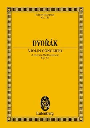 Violin-Konzert a-moll, op. 53 B 108 a-moll - DVORAK - laflutedepan.com