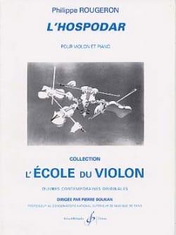 L'hospodar Philippe Rougeron Partition Violon - laflutedepan