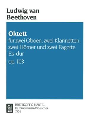 Octuor Es-Dur Op. 103 BEETHOVEN Partition OCTUORS - laflutedepan