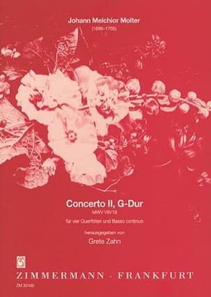 Concerto Nr. 2 G-Dur MWV 8/19 -4 Flöten BC - laflutedepan.com
