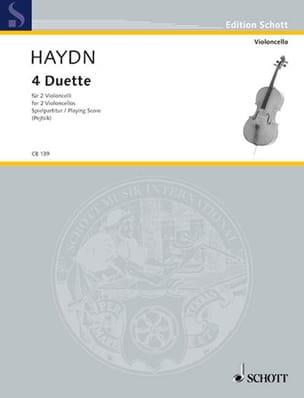 4 Duette HAYDN Partition Violoncelle - laflutedepan