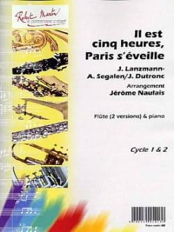 Il est Cinq Heures, Paris S'éveille - Flûte et Piano laflutedepan