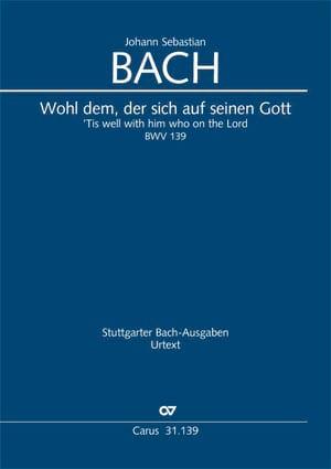 Johann Sebastian Bach - Cantata BWV 139 - Partition - di-arezzo.com