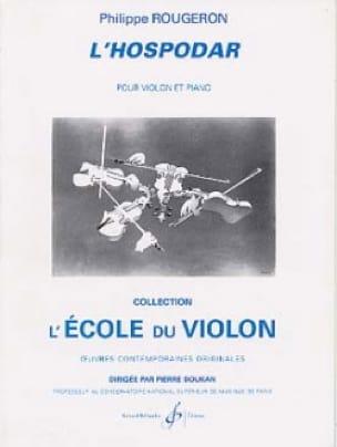 L'hospodar - Philippe Rougeron - Partition - Violon - laflutedepan.com