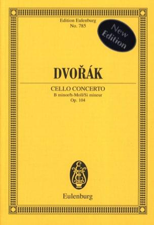 Violoncello-Konzert h-moll, op. 104 B 191 h-moll DVORAK laflutedepan