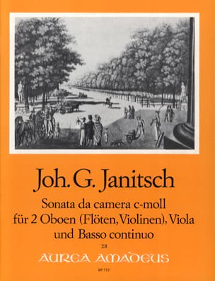 Sonata da camera c-moll op. 5 - 2 Oboen Viola BC laflutedepan