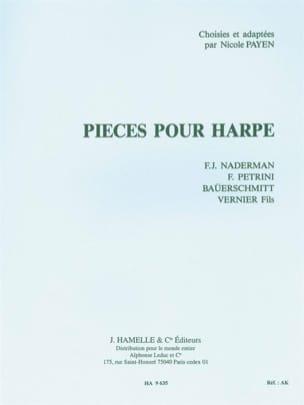 Pièces pour harpe Partition Harpe - laflutedepan