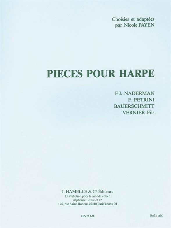 Pièces pour harpe - Partition - Harpe - laflutedepan.be