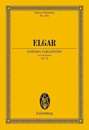 Enigma-Variationen - Conducteur ELGAR Partition laflutedepan