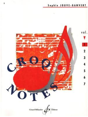 Croq' Notes - Volume 1 Sophie Jouve-Ganvert Partition laflutedepan
